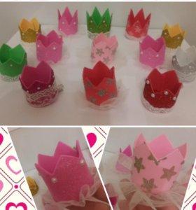 Детские короны ручной работы