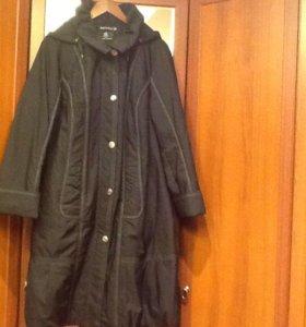 Пальто на  синтепоне 52-54 размер