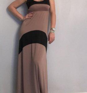 Платье в пол befree длинное