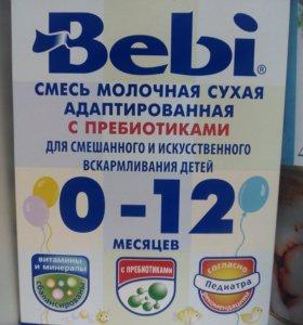 Смесь Bebi 0-12 мес