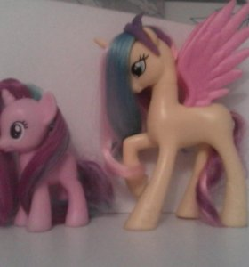 My little pony пони Голд лили старлайт глиммер