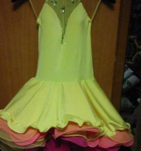 Бальное платье на латину