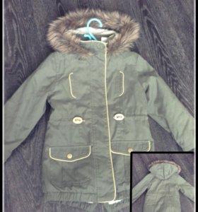 Утеплённая куртка - парка LaRedoute
