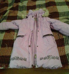 Зимняя куртка пальто lenne