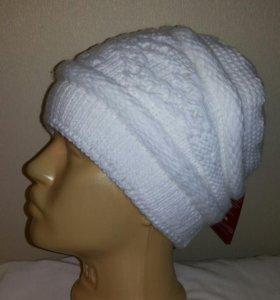 Женская шерстяная шапка.