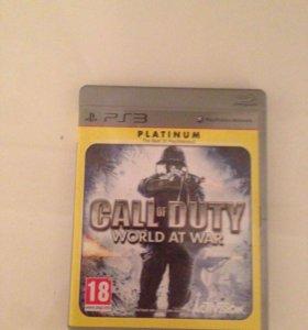 Cal of duty world at war на ps3