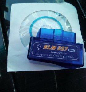 Диагностический сканер elm327 bluetooth obd2