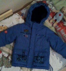 Куртка зимняя р-р92