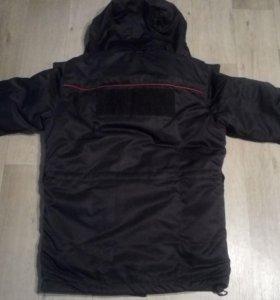 Зимний костюм(бушлат+ватные штаны)