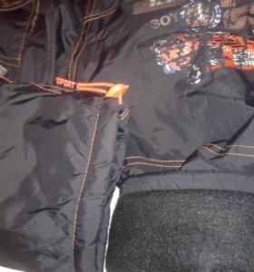 Зимние штаны на флисе