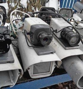 Камеры видеонаблюдения на запчасти
