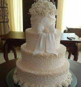 Торты для свадьбы