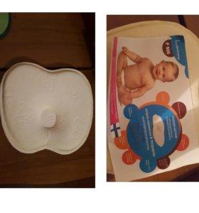 Подушка детская ортопедическая, с эффектом памяти.