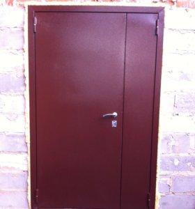 Металлические двери по размерам заказчика