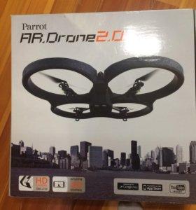 Квадрокоптер с видеокамерой  parrot AR.Drone 2.0