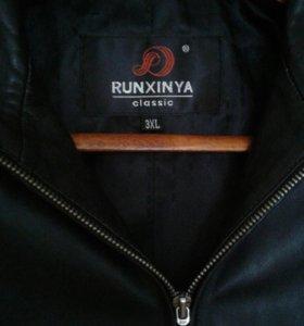 Куртка кожаная добротная