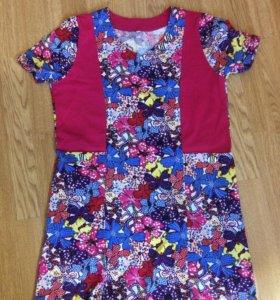 Платье домашнее с карманами