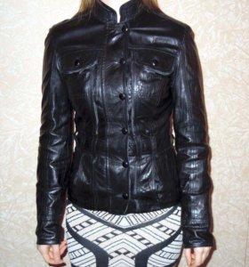 Куртка кожаная размер XS-S