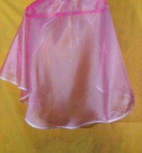 Платье в пол и накидка в подарок