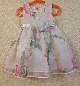 Платье для девочки 86
