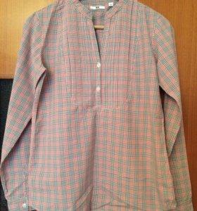 Рубашка Блузка марки Uniqlo