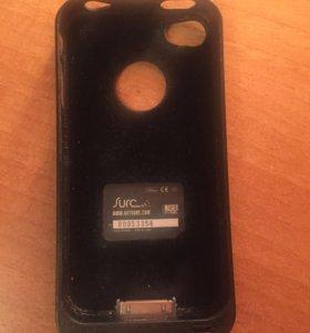 Пульт-чехол на айфон 4