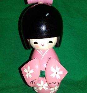 Кукла КОКЭСИ.Япония.