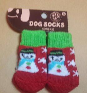 ❄Носки для собаки