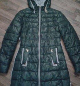 Зимнее пуховик - пальто