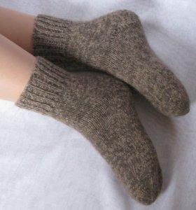 Вязаные носочки варежки