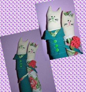 Кошки обнимашки