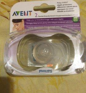 Защитные силиконовые накладки AVENT