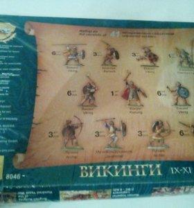 Коллекционные солдатики -Викинги