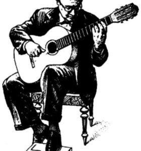 Обучение игре на музыкальных инструментах.
