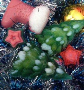 Натуральное мыло новогоднее