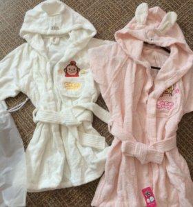 Продам новые детские халаты