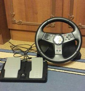 Руль и педали к компьютеру