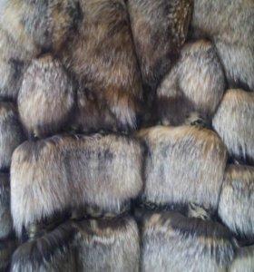 Шуба чернобурка, рр 42-46