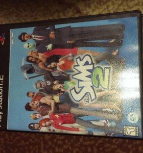 Игра The Sims 2 на Play Station 2