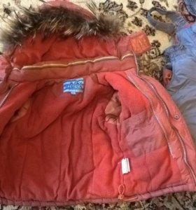Зимний костюм(комбез+куртка)