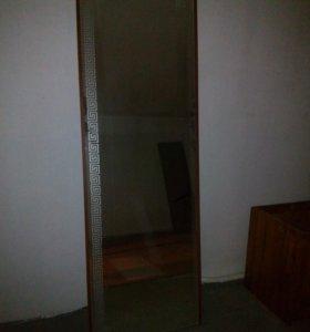 Продам зеркало на основе из ДСП