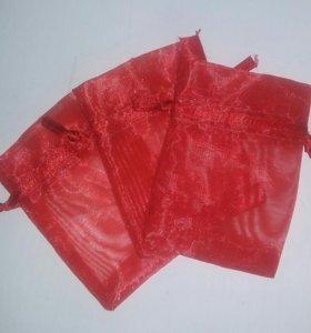 Подарочный мешочек, органза 5.5х8 см