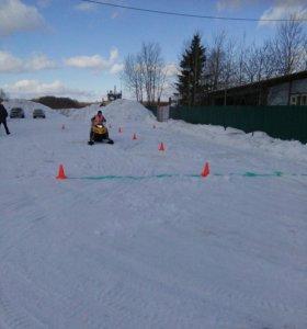 Обучение категории А-1. Снегоход, квадроцикл.