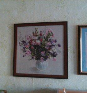"""Картина """"Весенний букет """""""
