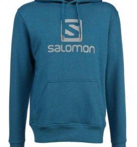 Толстовка тёплая Salomon новые худи Саломон
