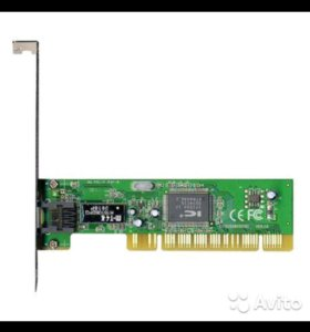 Новый, сетевой адаптер PCI Fast Ethernet NX1001
