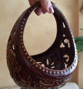 Очень красивая и редкая ваза