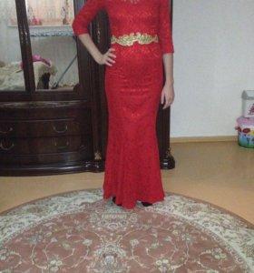 Вечернее платье 89679363832