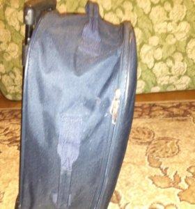 Дорожная сумка на калёсах