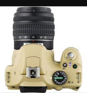 Фотоаппарат Pentax K-x